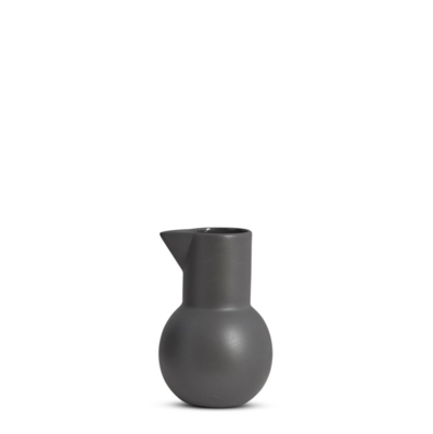 Yala Ceramic Small Jug - Charcoal