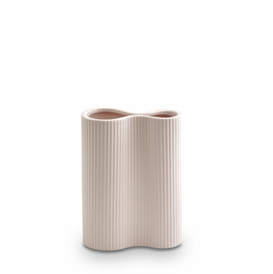 Infinity Ceramic Small Vase - Nude