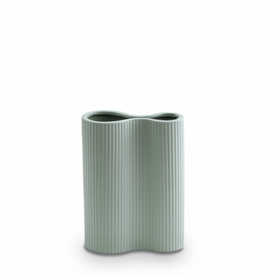 Infinity Ceramic Small Vase - Blue