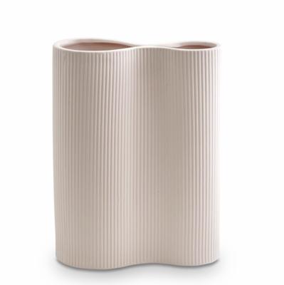 Infinity Ceramic Large Vase - Nude