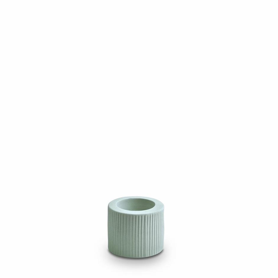 Infinity Ceramic Small Tealight - Blue