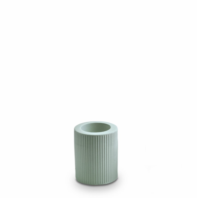 Infinity Ceramic Large Tealight - Blue