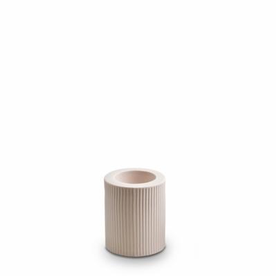Infinity Ceramic Large Tealight - Nude