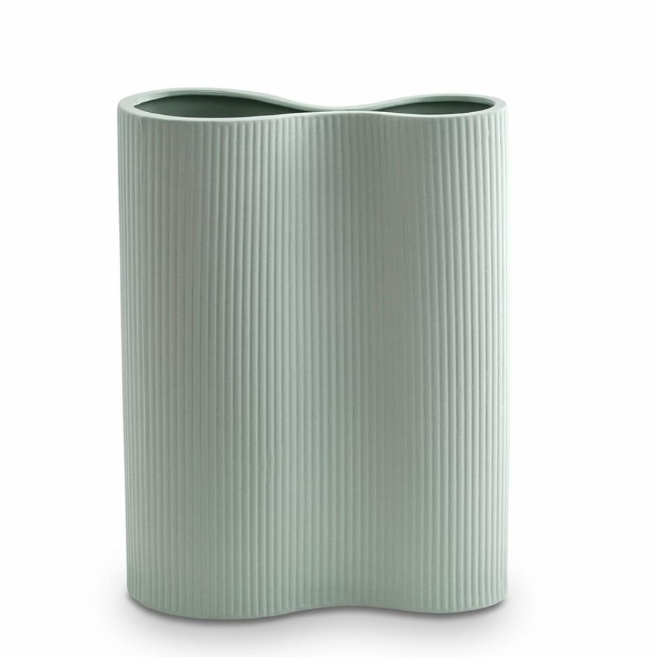 Infinity Ceramic Large Vase - Blue