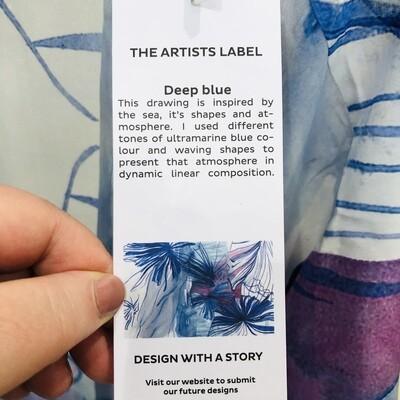 Kimono - Deep Blue