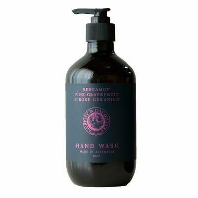 Hand & Body Wash - 500ml - Bergamot, Pink Grapefruit and Rose Geranium