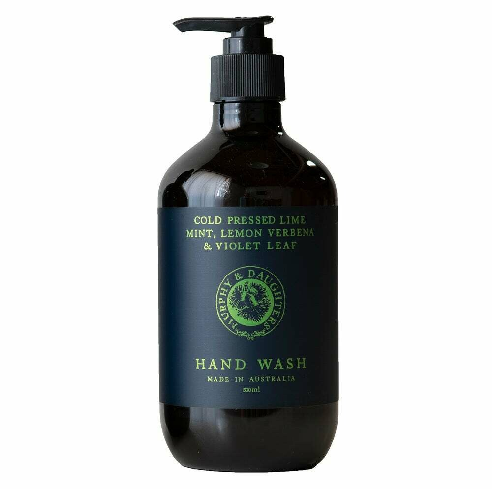 Hand & Body Wash - 500ml - Cold Pressed Lime, Mint, Lemon Verbena and Violet Leaves