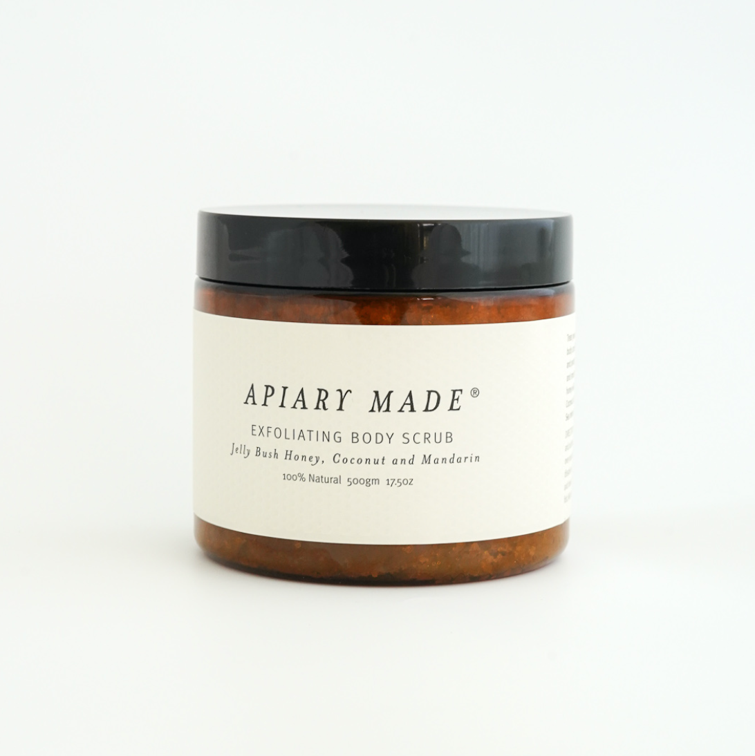 Honey, Coconut & Mandarin Body Scrub