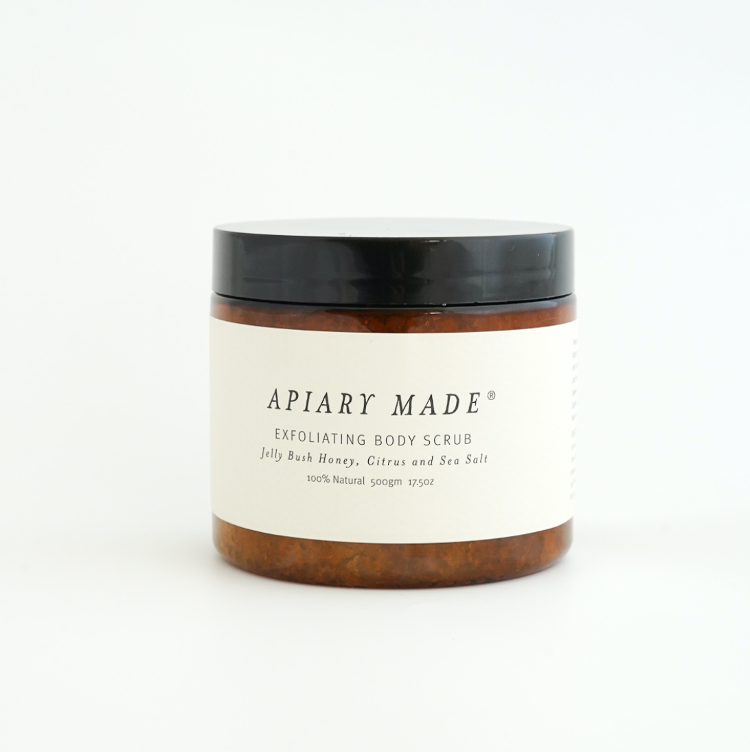 Honey, Citrus & Sea Salt Body Scrub