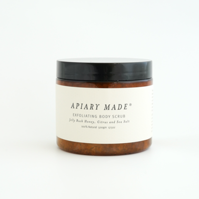 Honey, Citrus & Sea Salt Body Scrub