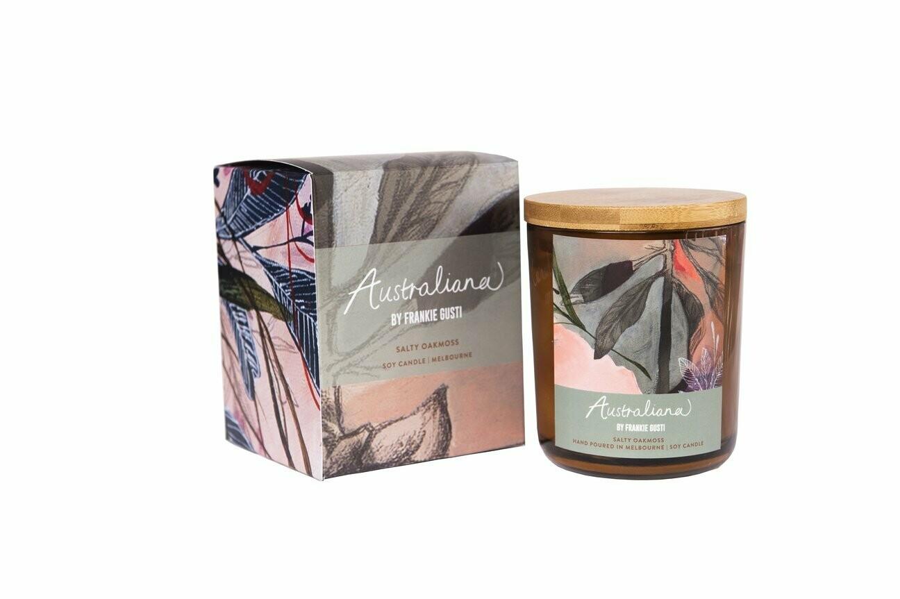 Soy Candle - Australian Series - Salty Oakmoss - 50hr burn