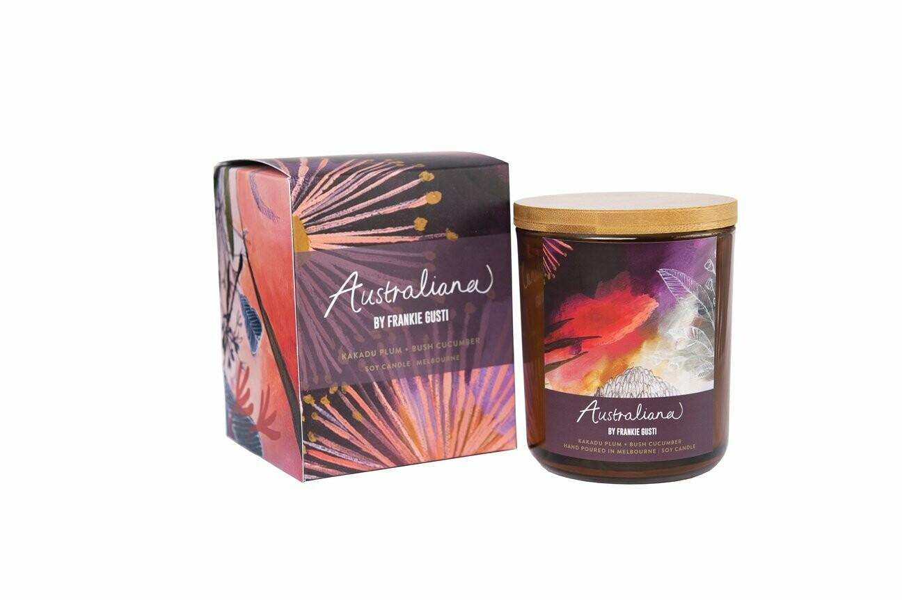 Soy Candle - Australian Series - Kakadu Plum + Bush Cucumber - 50hr burn