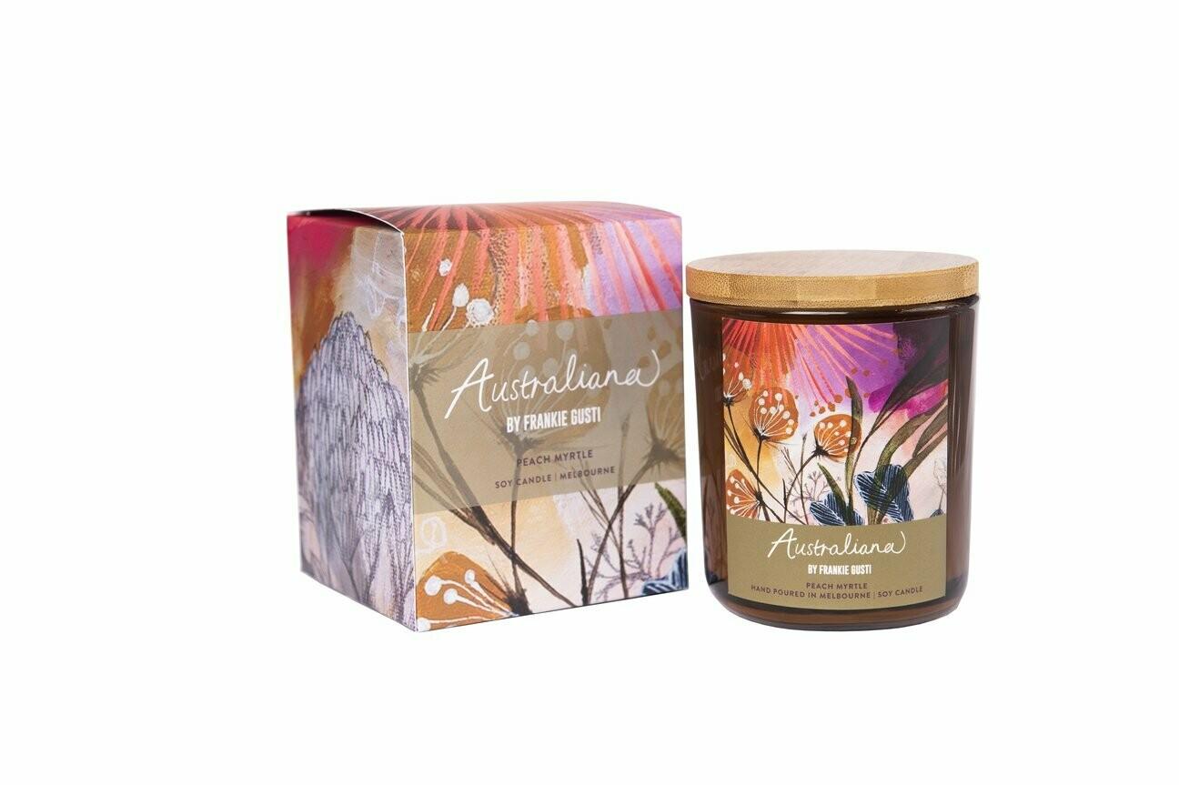 Soy Candle - Australian Series - Peach Myrtle - 50hr burn
