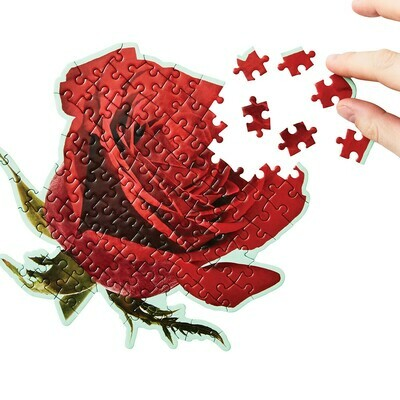 Little Puzzle Things - Rose Jigsaw - Scratch & Sniff