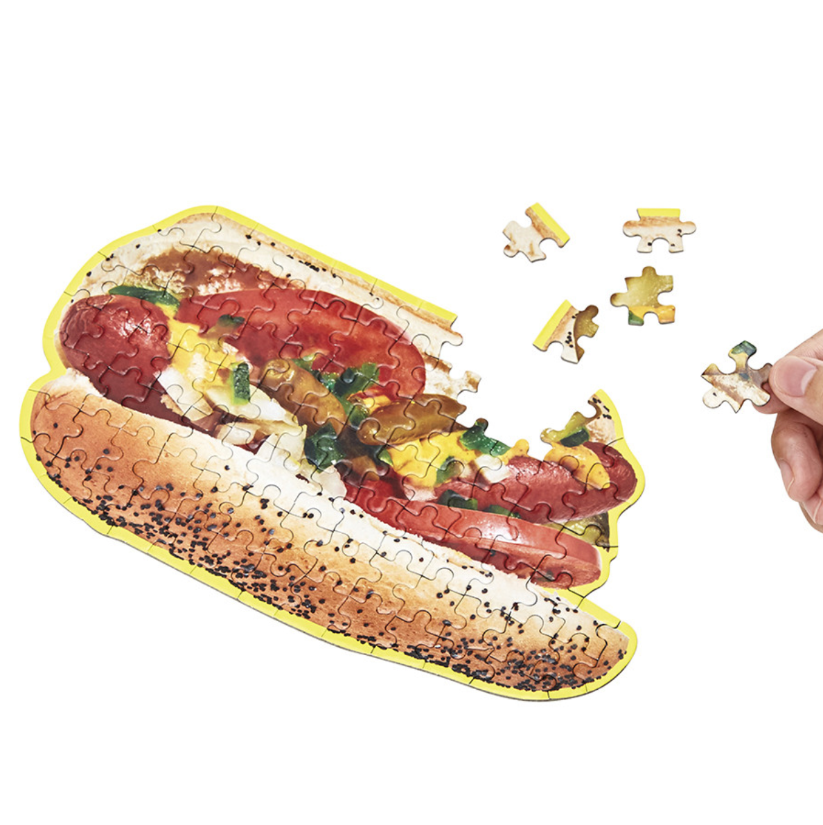 Little Puzzle Things - Hot Dog Jigsaw