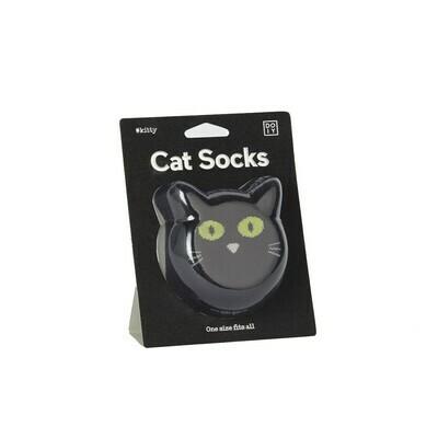 Cat Socks - Black - One Size