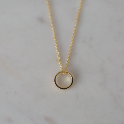 Oh My Necklace - 14kt Gold Plated