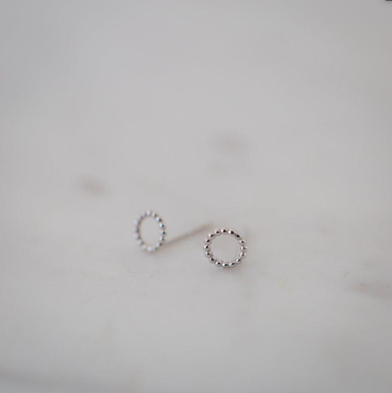 Dotty Oh Stud Earrings - Sterling Silver