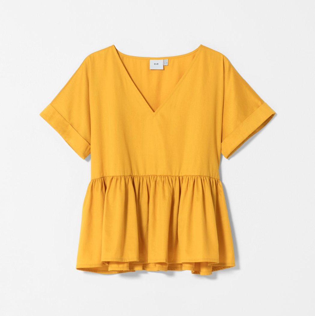 Karis Smock Box Top - Dandelion