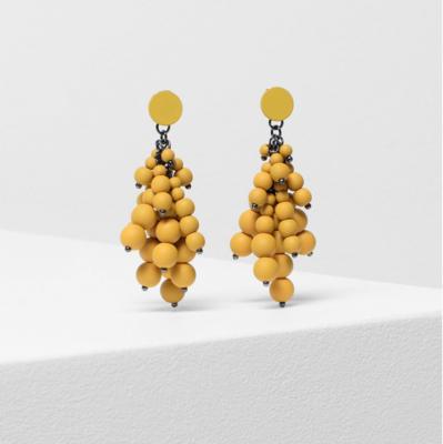 Asta Earrings - Sulphur