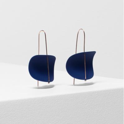 Erna Earrings - Cobalt