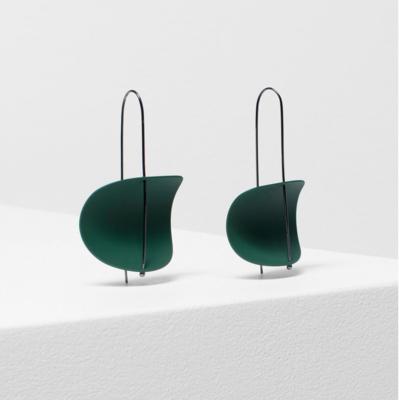 Erna Earrings - Pesto