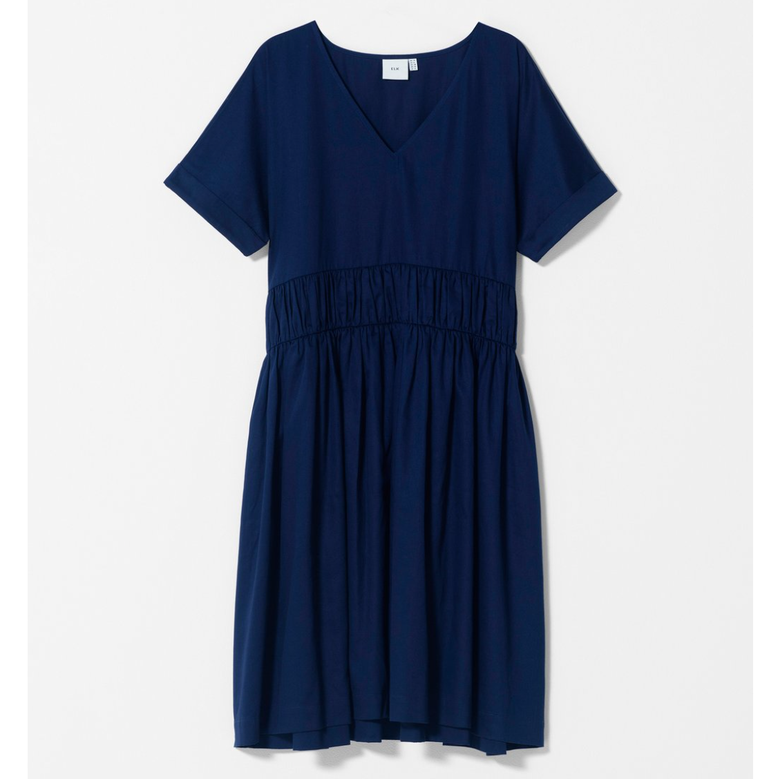Karis Smock Box Dress - Blue