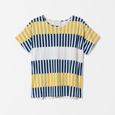 Valby Top - Navy Stripe