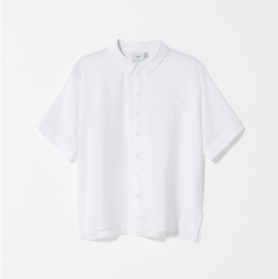 Aissa Shirt Top - White