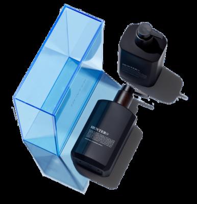 Hand & Body Kit - Blue Acrylic Box
