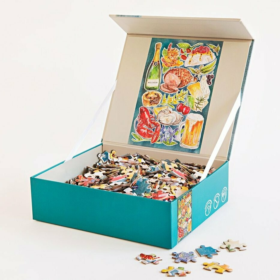 500 Piece Puzzle - Pavlova & Prawns