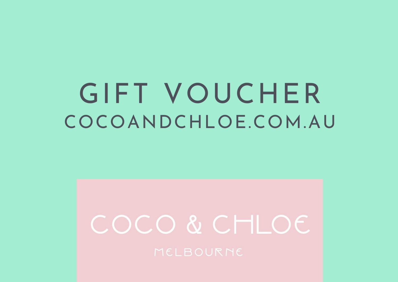 Gift Voucher for cocoandchloe.com.au