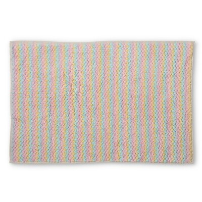 Turkish Towels - Bath Mat - Pebbles