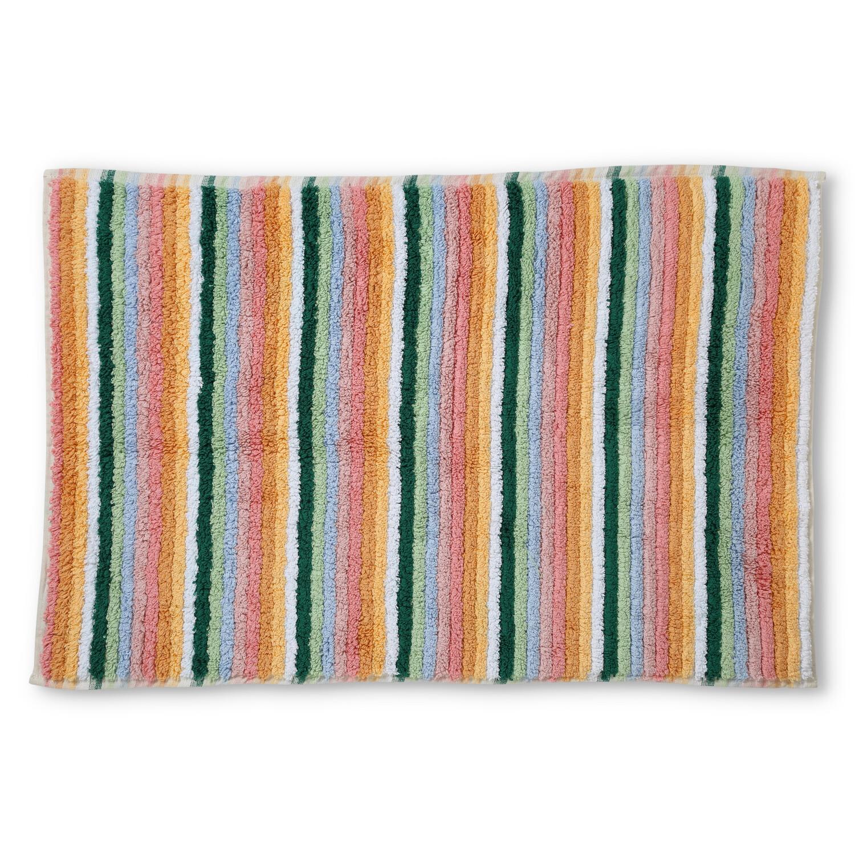 Turkish Towels - Bath Mat - Stripes