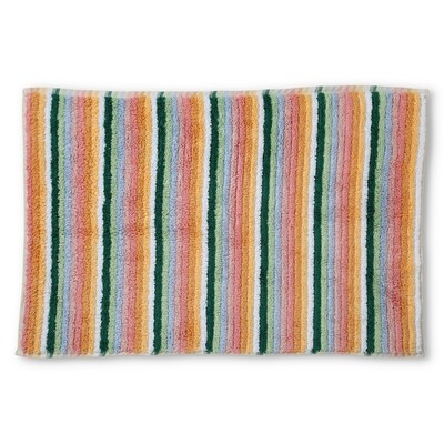 Turkish Towels - Bath Mat - Stripes