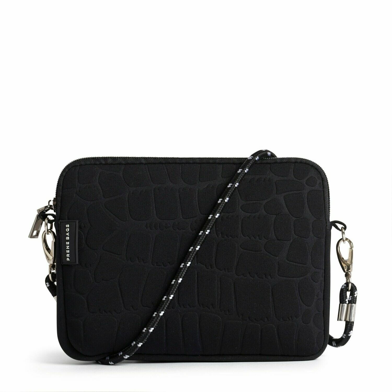 Pixie Neoprene Bag - The Wild - Black