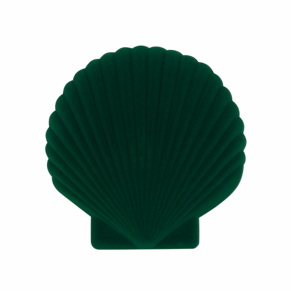 Shell Jewellery Box - Green