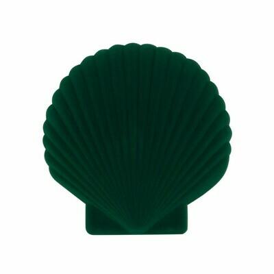 Shell Jewellery Box - Green