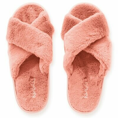 Adult Slippers - Blush Pink