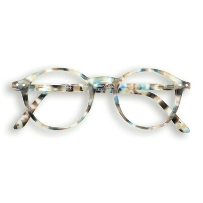 Screen Glasses #D - Blue Tortoise - JUNIOR/KID