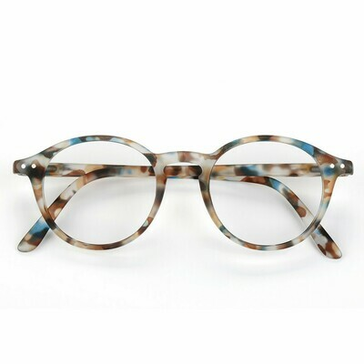 Screen Glasses #D - Blue Tortoise - ADULT