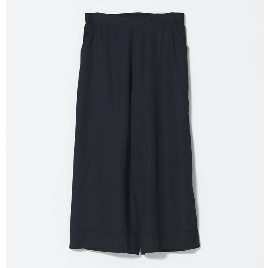 Wide Leg Culottes - Black