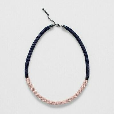 Rek Necklace - Silver Pink