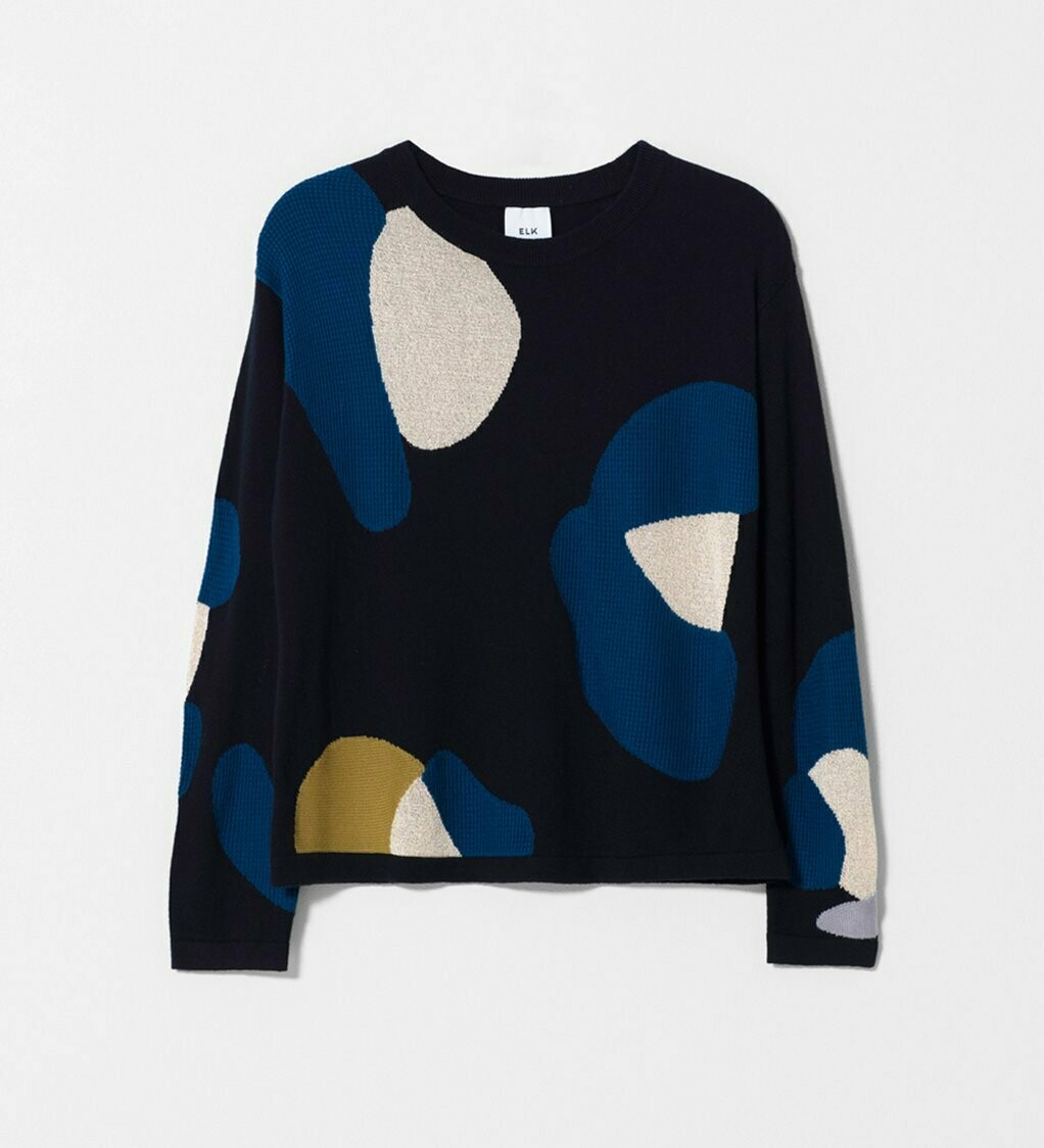 Poppy Sweater Knit - Multi Metallic