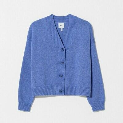 Aden Cardigan Knit - Persian Blue