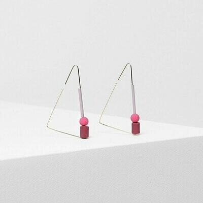 Dakin Earrings - Boysenberry