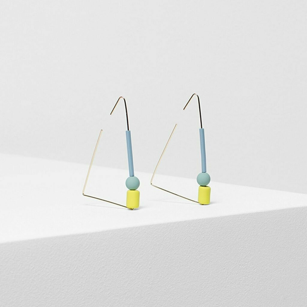 Dakin Earrings - Lemon