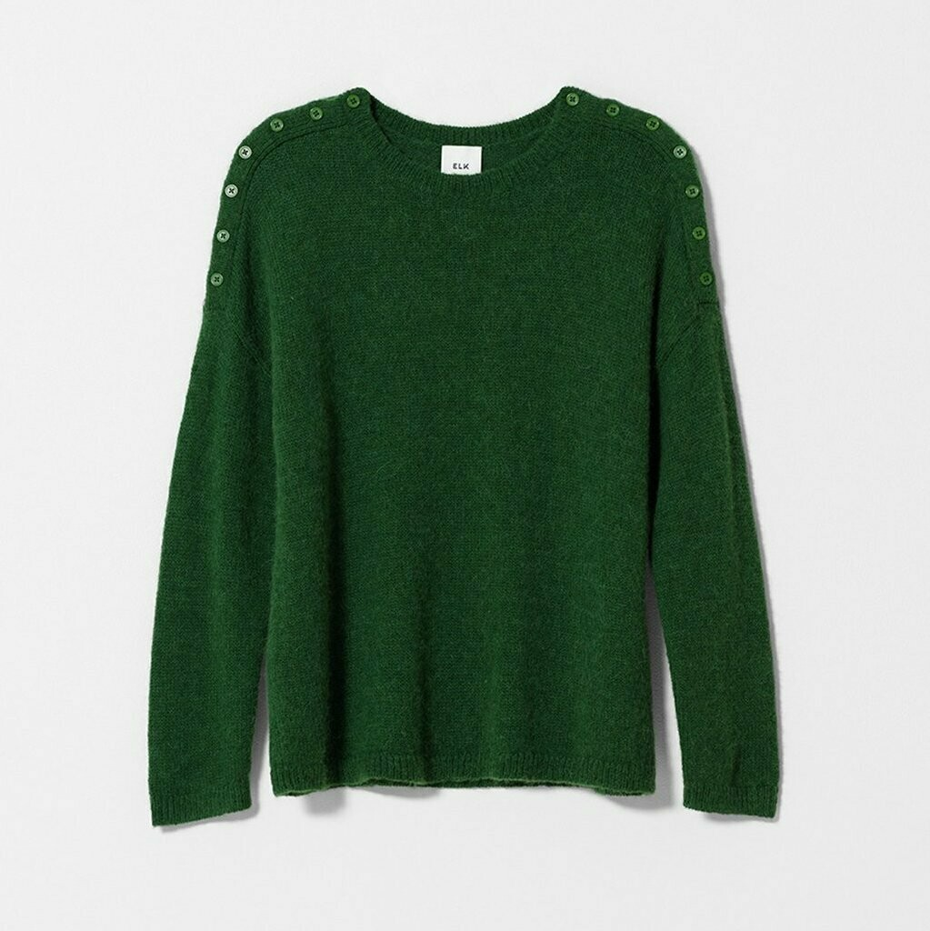 Carita Sweater Knit - Forest