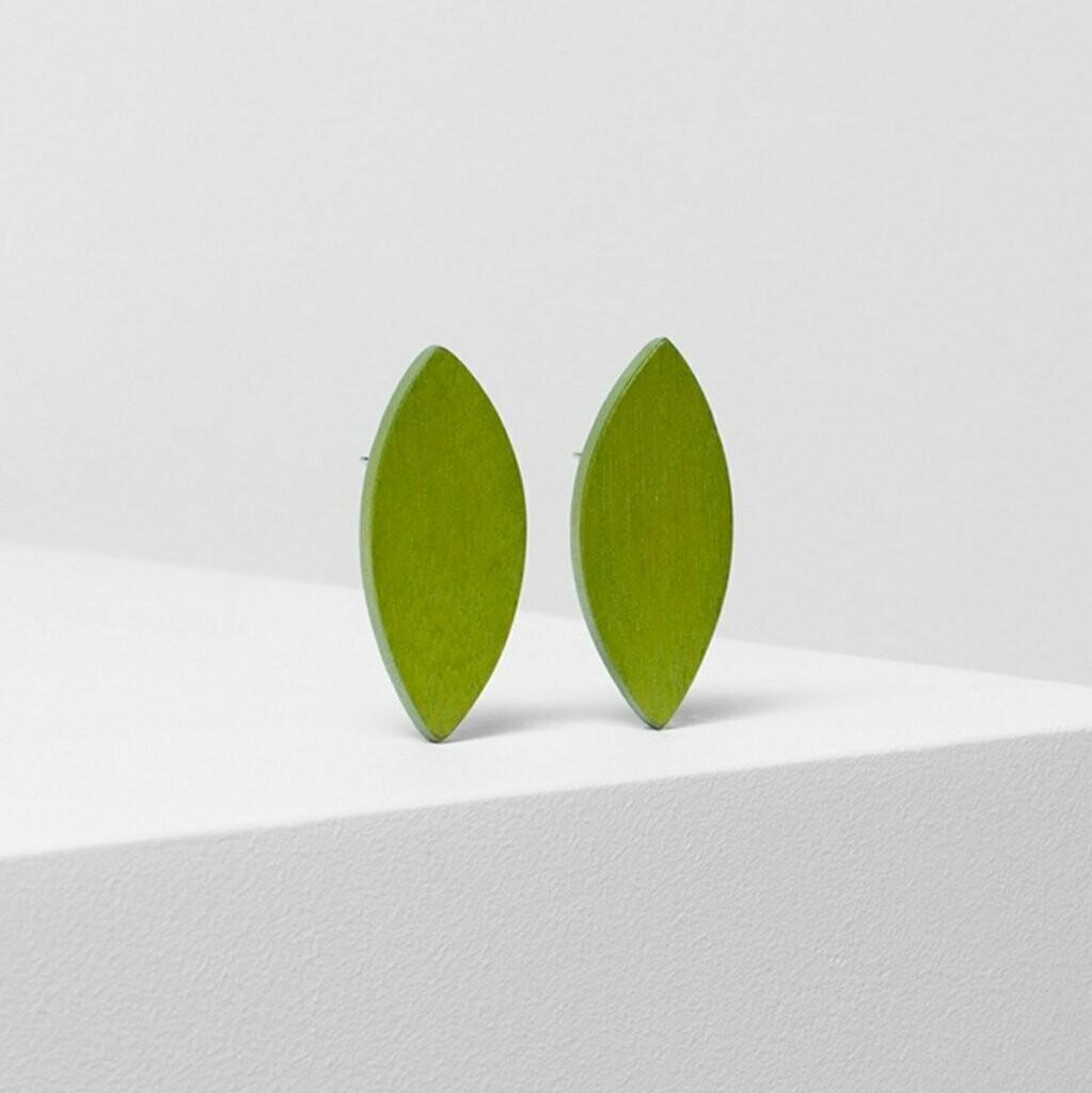 Leaf Clip On Earrings - Citronelle