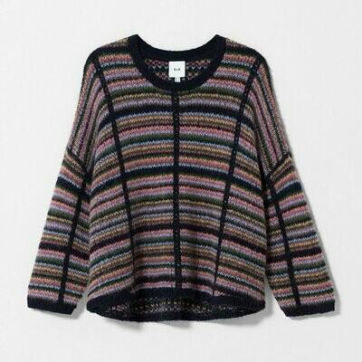 Lena Sweater - Multi Check
